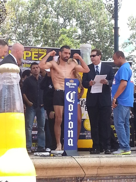 Perro weigh in