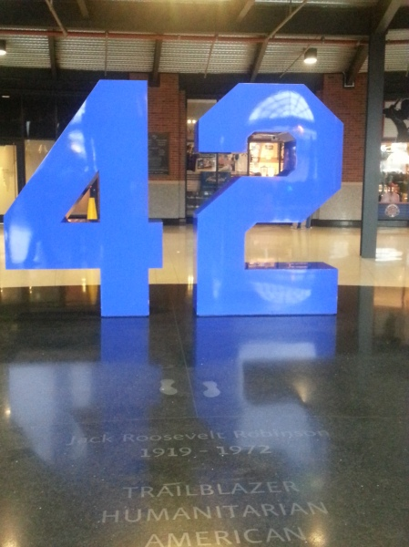 Pictures from Jackie Robinson Rotunda at Citi Field