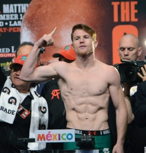 Canelo Weigh In