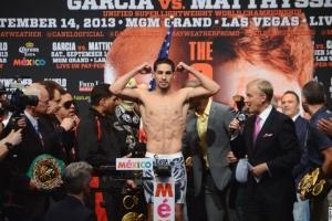 Danny Garcia Weigh In