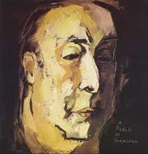 Pablo Neruda by Guayasamin
