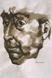 Pintura de Neruda by Guayasamin